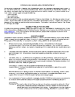 Conduct & Concussion Form