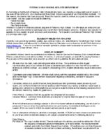 Petoskey Athletics Code of Conduct